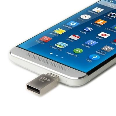 فلش مموری 8 گیگابایت USB2.0 سیلیکون پاور با قابلیت OTG